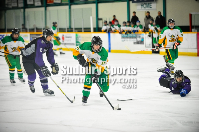 SDSSAA Boys Hockey - Lockerby vs Lo-Ellen